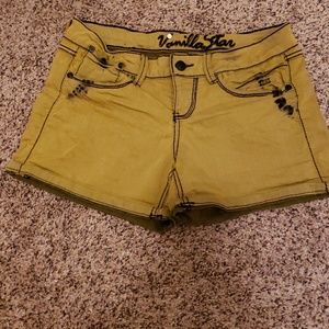Yellow Black Shorts